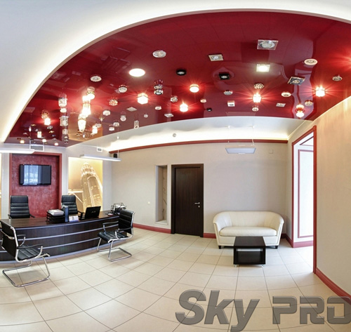 светильники в офисе SkyPRO в Череповце